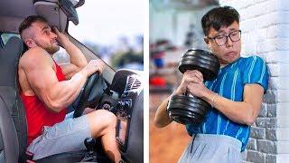 Schwächling vs Muskelprotz - Lustige Situationen, Die Garantiert Jeder Kennt