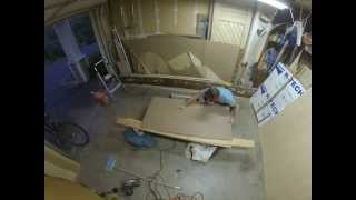 Denizen Teardrop Trailer Build Hatch Exterior Kerfing Pt 1