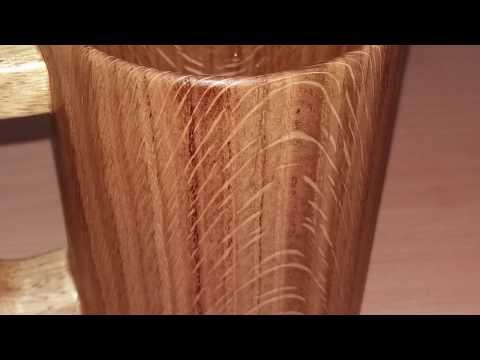 Oak Mug Epoxy Resin