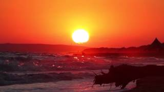"""Music: """"the unknown"""" from the album """"hope endures"""" by philip wesleywww.philipwesley.comrelax video about sunset sessions after strong rain at black sea, ..."""