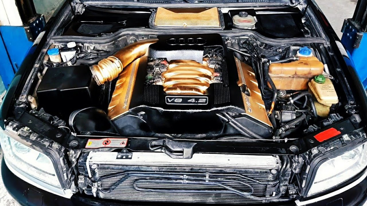 Audi S8 D2 Rebuild Engine All new Parts - YouTube | Audi V8 Quattro Engine Diagram |  | YouTube