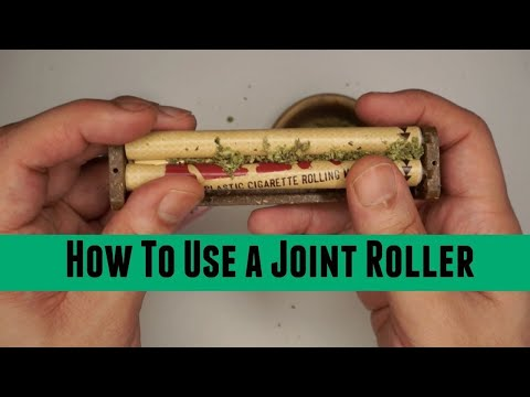 How To Use a Raw Joint Roller Machine Using Pink Rolling Papers