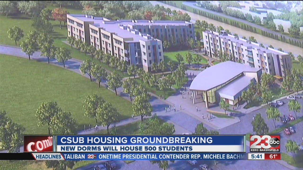 Csu Bakersfield Campus Map.Csub Housing Groundbreaking Youtube