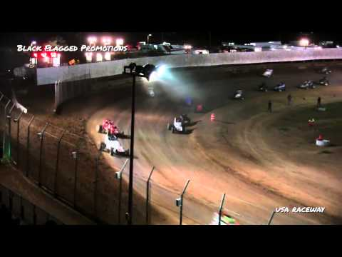 USA Raceway- Non Wing Sprint Main March 21st 2015