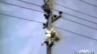 50000 Volt Elektrik Çarpması - İş Sağlığı, Güvenliği, İş Kazaları, - DİKKAT.