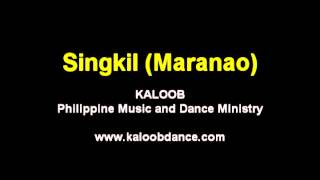 Singkil-Maranao (Audio only)