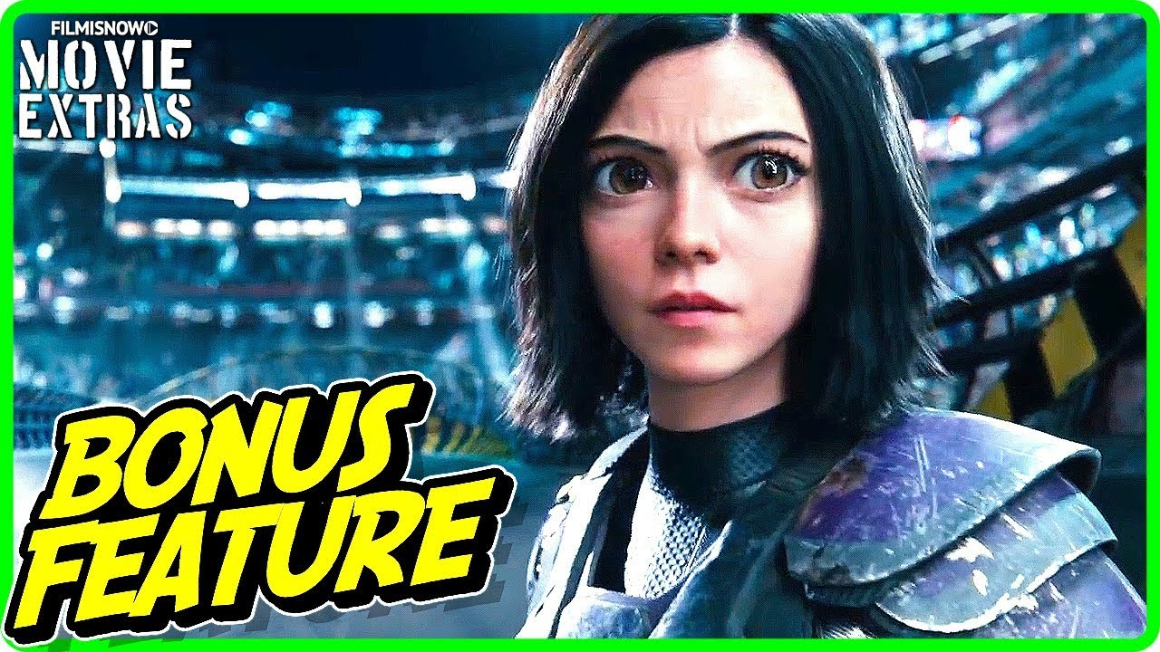 ALITA: BATTLE ANGEL | Two Visionaries, One Vision Featurette