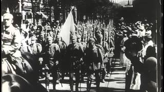 Неизвестные кадры германской кинохроники времён Первой мировой войны (1914-1918 гг.)