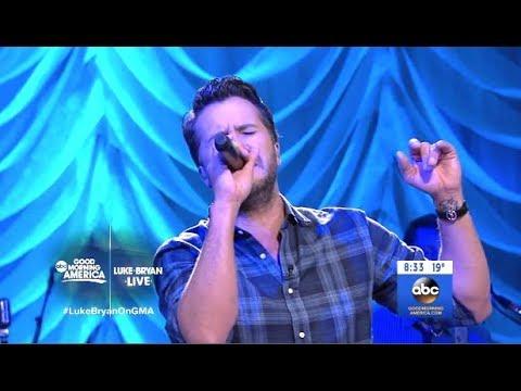 Luke Bryan - Light It Up - GMA Live