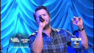 Luke Bryan Light It Up Gma Live