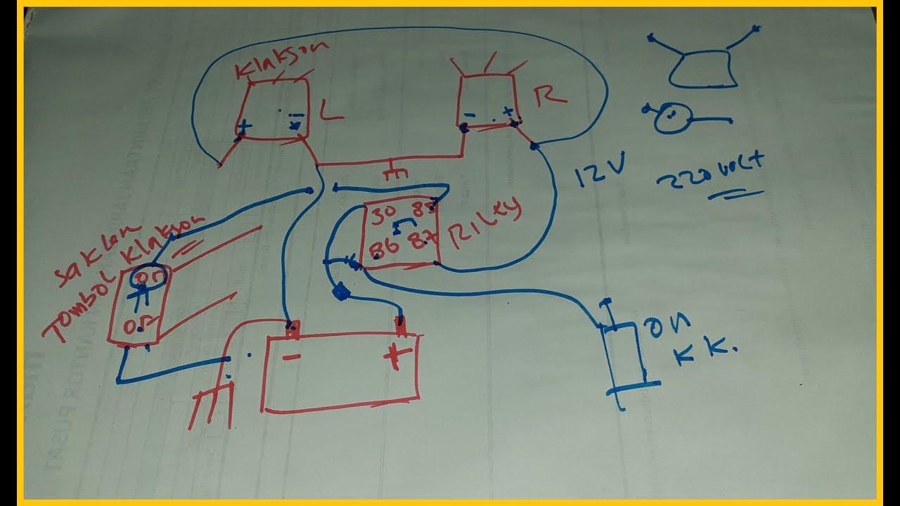 Wiring Diagram Riley Klakson Mobil  Motor