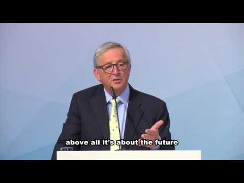President Jean-Claude Juncker on Paris Agreement