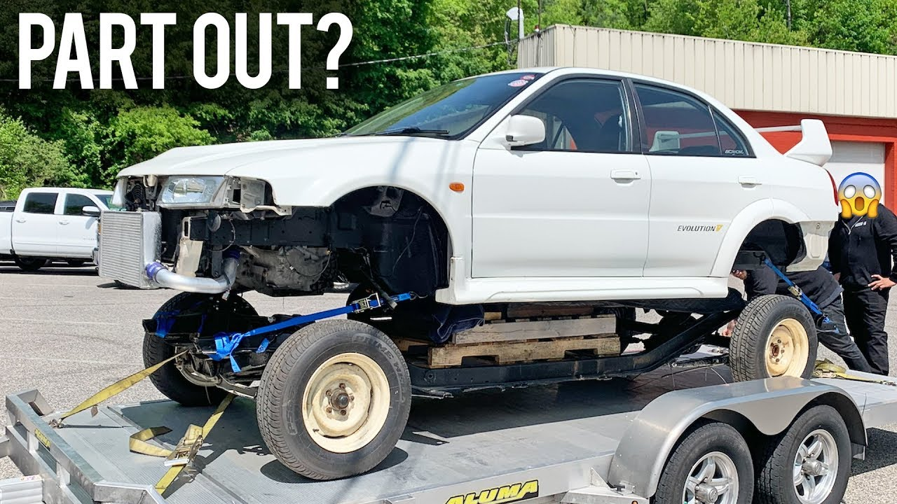 Tearing my Evo 5 down to Bare Chassis!