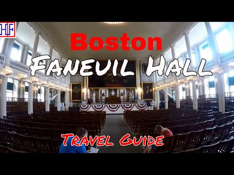 Boston | Faneuil Hall | Tourist Attractions | Episode# 10