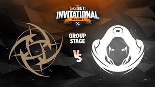 Ninjas in Pyjamas vs Odium Game 1 - GG.Bet Invitational: Group A w/ GoDz & BreakyCPK