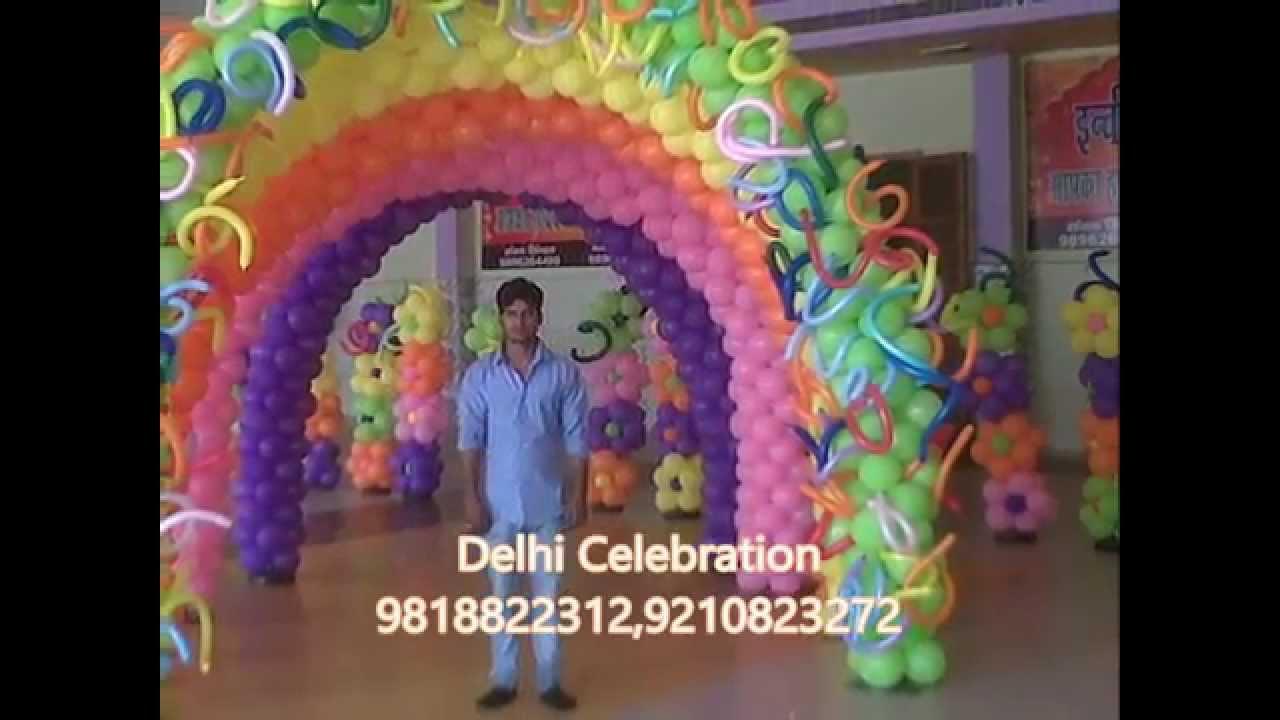 Birthday organizer Delhi Theme party planner Noida YouTube
