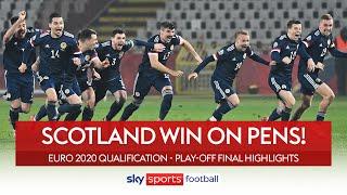 Scotland book Euro place through pens! 💯 | Serbia 1-1 Scotland | Euro 2020 Play-Off Highlights