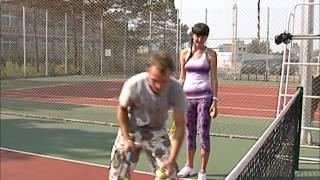 Теннис урок для новичка