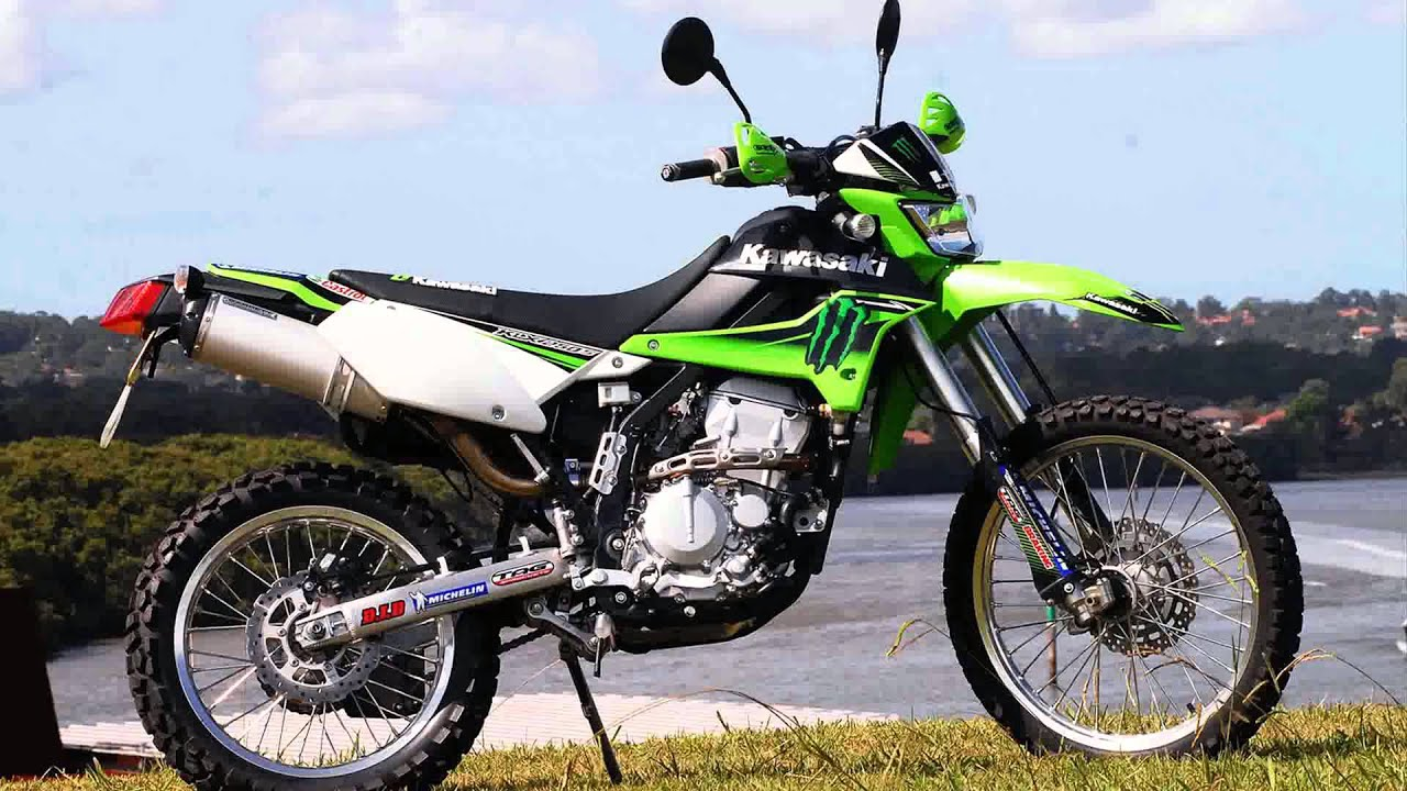 kawasaki klx250s - YouTube