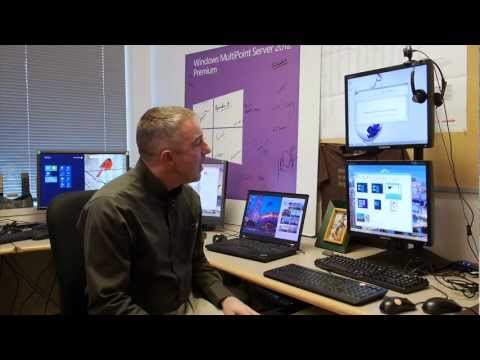 MultiPoint Server 2012 Dashboard demo