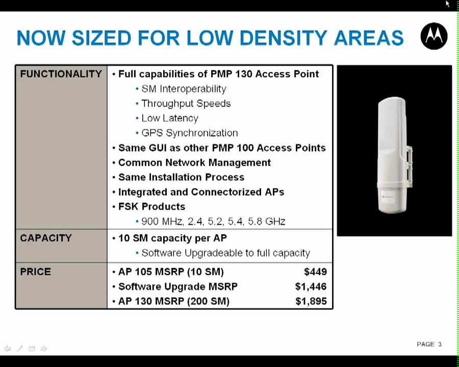 Motorola / Cambium Networks PMP Canopy Serie100 AP105 lu0027access point economico  sc 1 st  YouTube & Motorola / Cambium Networks PMP Canopy Serie100: AP105 lu0027access ...