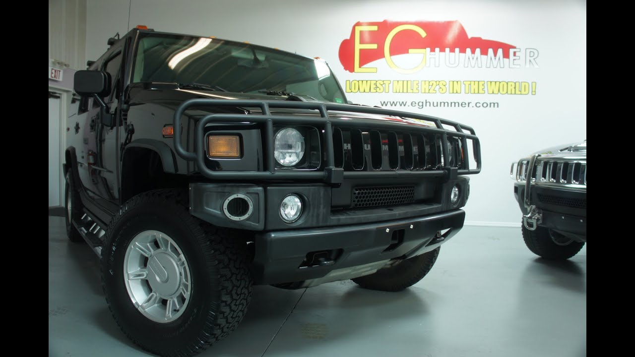 2004 Hummer H2 Luxury For Sale Low Miles ly 16 400 Miles e