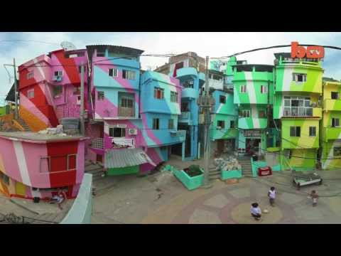 Street Art Transforms Slums In Brazil