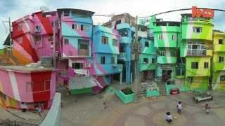 Street Art Transforms Slums In Brazil