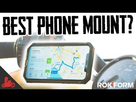 best-motorcycle-phone-mount?---rokform-first-look!
