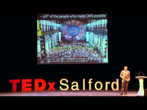 Searching for the Genetic Code of our Universe: Joe Incandela at TEDxSalford