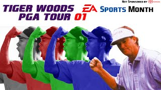 Game Review: Tiger Woods PGA Tour 2001 (PS1) (EA Sports Month)