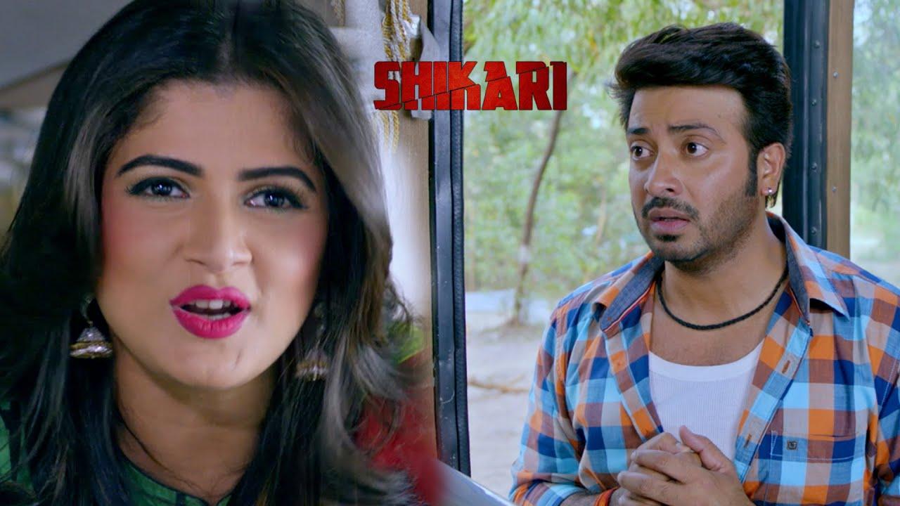 Shakib Khan | Srabanti | Shikari | Movie Clip | Jaaz Multimedia