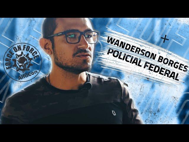 Wanderson Borges - Policial Federal (ex-aluno e colaborador do AlfaCon)