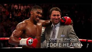 BREAKING! - KUBRAT PULEV INJURED! - ANTHONY JOSHUA FACES CARLOS TAKAM OCT 28 - EDDIE HEARN EXCLUSIVE