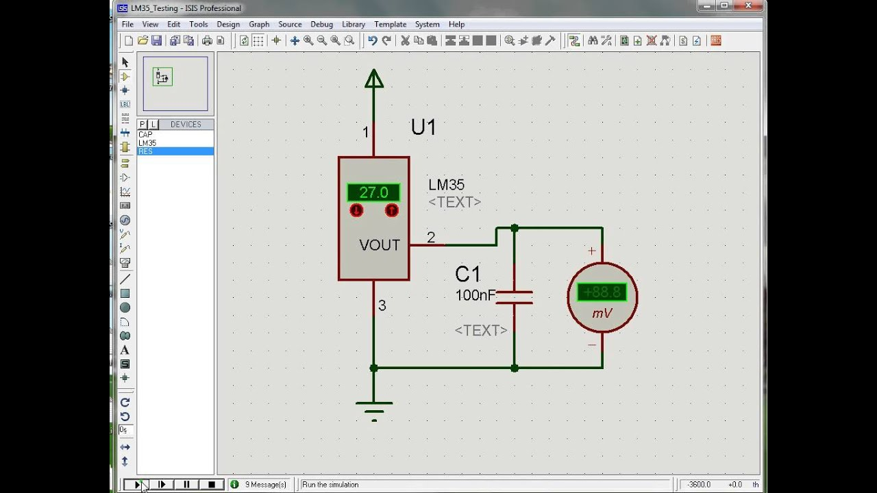 Simple Heat Detector Circuit My Circuits 9