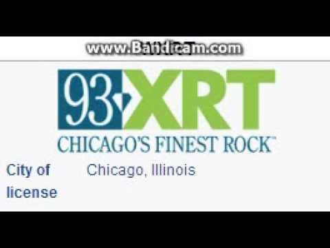 WXRT 93.1 93 XRT Chicago, IL TOTH ID at 8:00 p.m. 8/22/2014