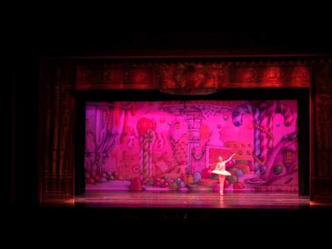 Eliza performing Sugar Plum Fairy solo from The Nutcracker, December 2015