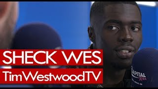Sheck Wes on Mo Bamba, Travis Scott, being in Africa, making hits - Westwood
