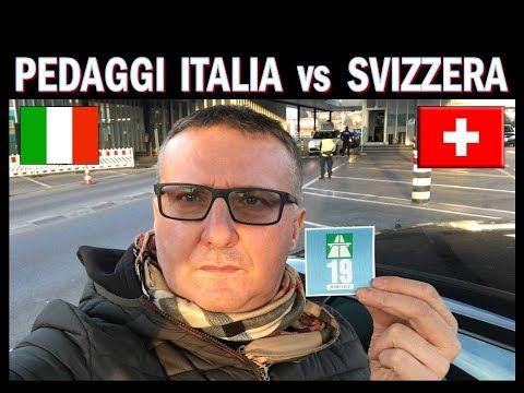Pedaggi  Italia vs Bollino autostrade Svizzera !!!!