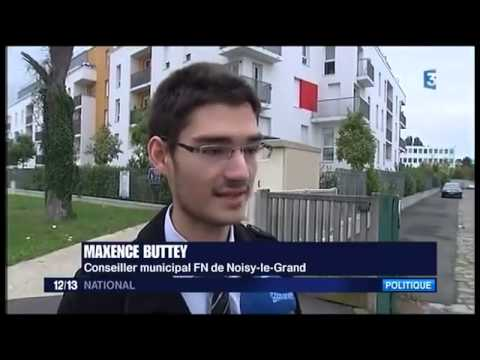 Maxence Buttey membre du FN converti à l'Islam