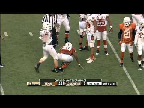 Football highlights: Spring game [March 31, 2013]