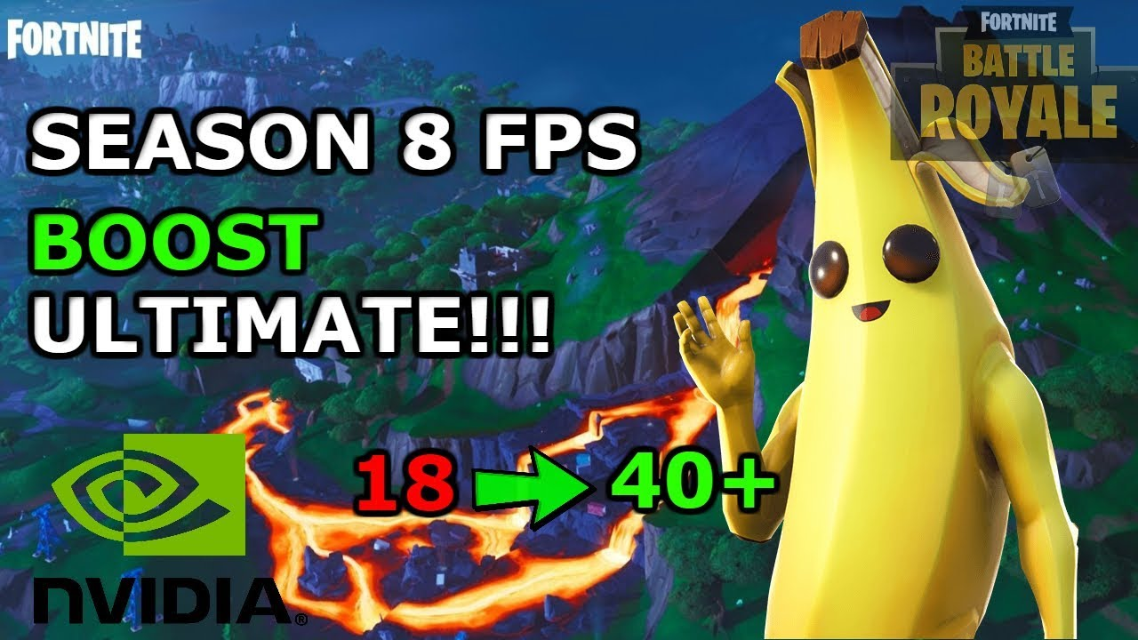 *NEW* FORTNITE FPS BOOST TUTORIAL FOR SLOW PC/LAPTOP WITH PROOF SEASON 8!!!