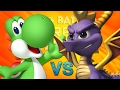 Spyro vs Yoshi picas Batallas de Rap...