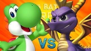 Spyro vs Yoshi. Épicas Batallas de Rap del Frikismo T2 | Keyblade