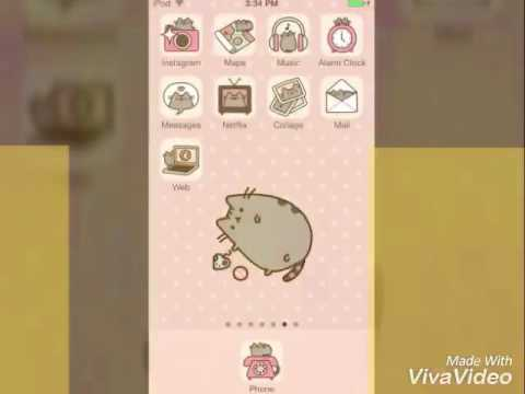 Cute wallpaper pusheen