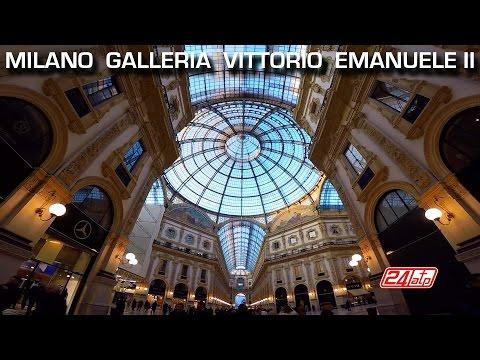 Milan Gallery Milano Galleria Vittorio Emanuele Shopping Duomo Feiyu-Tech FY-G4 Gimbal Gopro EXPO