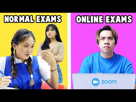 Students in Online Exams vs Normal Exams - JianHao Tan