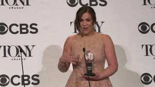 'Carousel' star Lindsay Mendez - 2018 Tony Awards Backstage Interview