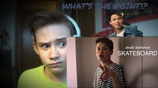 Jacob Sartorius - Skateboard (Official Music Video) REACTION!