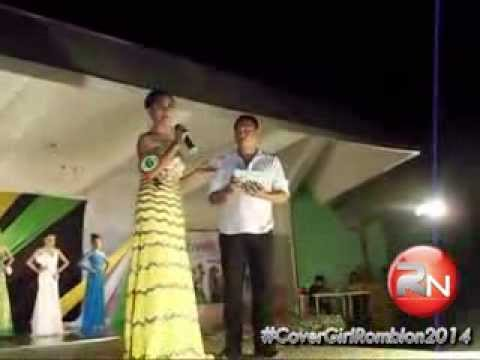 Miss #CoverGirlRomblon2014 Question and Answer Portion